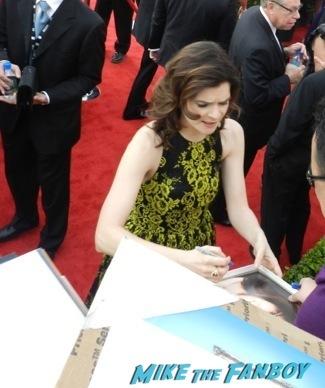 Celebrities Signing Autographs 2014 sag awards53