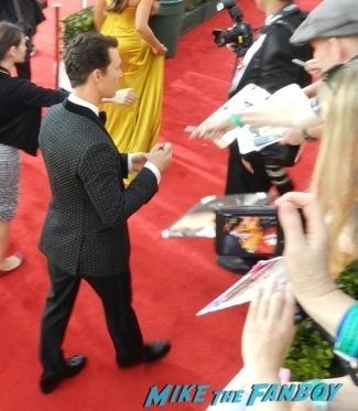 Matthew McConaughey Celebrities Signing Autographs 2014 sag awards80