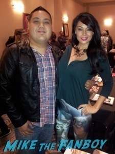 Tera Patrick signing autographs Celebrity autograph signing hollywood show joey lauren adams 5
