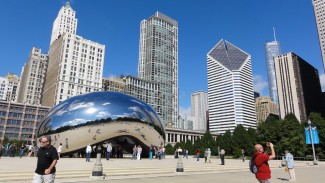 Chicago - Bean in the park