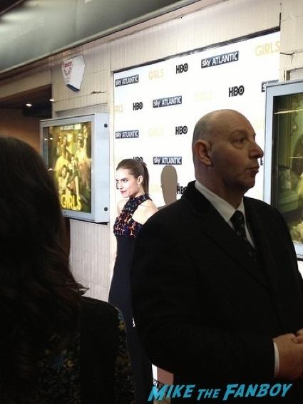 Girls UK Premiere lena dunham signing autographs allison williams23