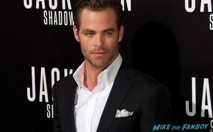 Jack Ryan: Shadow Recruit premiere chris pine red carpet1