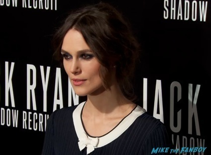 Keira Knightly  Jack Ryan: Shadow Recruit premiere chris pine red carpet7
