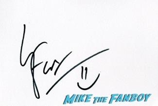 Jack Ryan UK Premiere Kiera Knightly signing autographs chris pine15