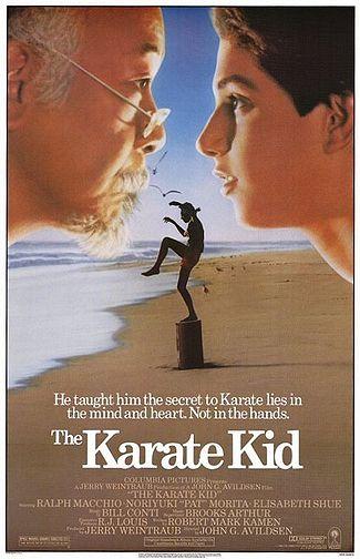 Karate_kid movie poster rare
