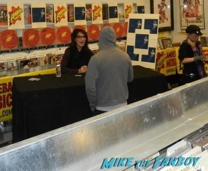 Katey Sagal autograph signing amoeba music 2013 gemma teller6