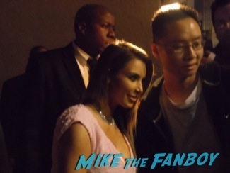 Kim kardashian signing autographs jimmy kimmel live 20143