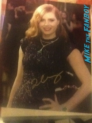 amy adams signed autograph photo rare