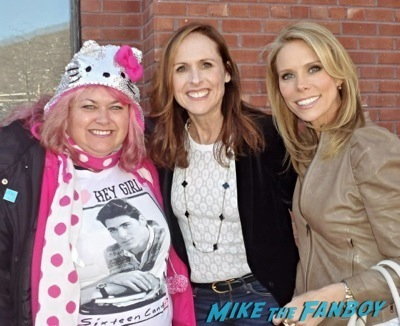Molly Shannon and Cheryl Hines