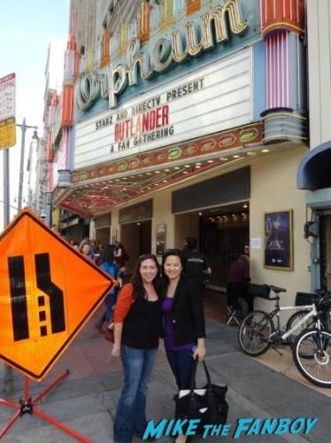 Alicia and Erica at Orpheum