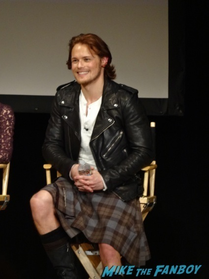 Outlander Fan Event Sam Heughan photo gallery sexy 14