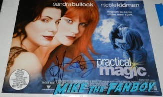 sandra bullock nicole kidman signed autograph practical Magic UK Quad mini poster Palm Springs International Film Festival 2014 signing autographs bono sandra bullock37
