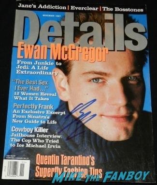 ewan mcgregor signed autograph details magazine cover rare signing autographs Palm Springs International Film Festival 2014 signing autographs bono sandra bullock22