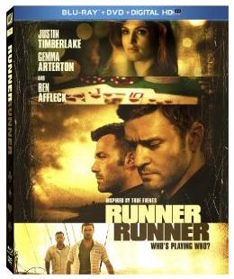 runner, runner blu-ray cover justin timberlake