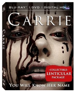 carrie blu ray cover rare promo carrie movie poster rare