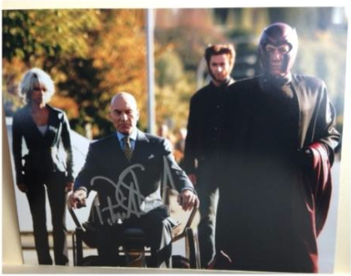 Patrick Stewart signed autograph x-men photo still rare