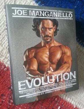 Joe Manganiello evolution book cover