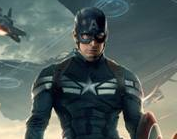 captain america: The winter soldier logo movie poster teaser