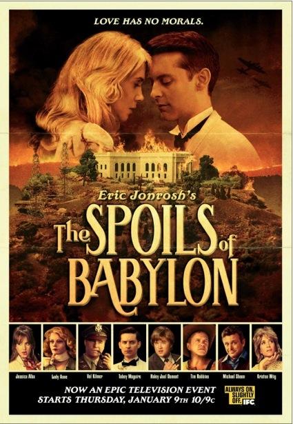 The Spoils of Babylon poster rare