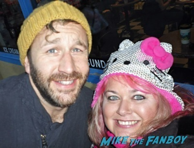 Chris O'Dowd signing autographs Sundance Celebrities Signing Autographs 2014 17
