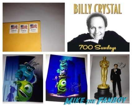 TTM Tuesday autograph playbill billy crystal 3