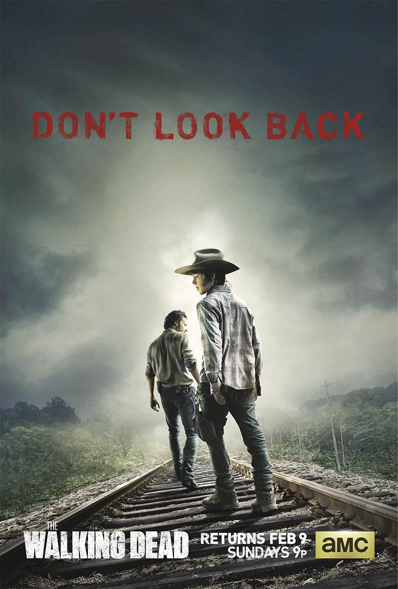 the walking dead season 4 mid season premiere poster
