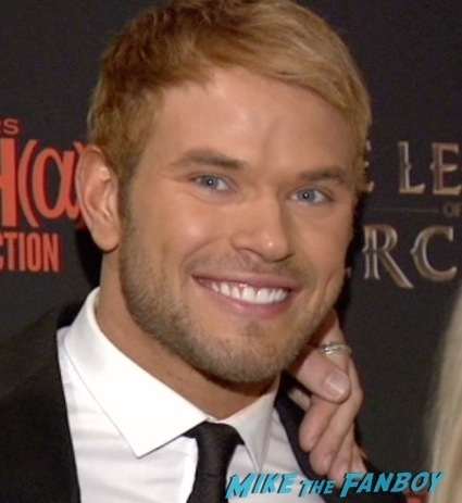 The Legend Of Hercules New York Premiere kellan lutz red carpet1