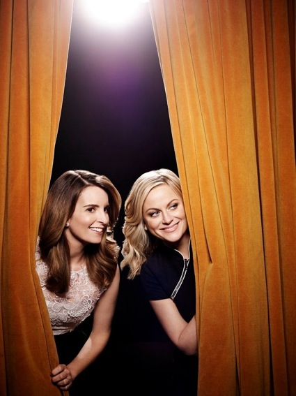 Tina and amy press promo still golden globes