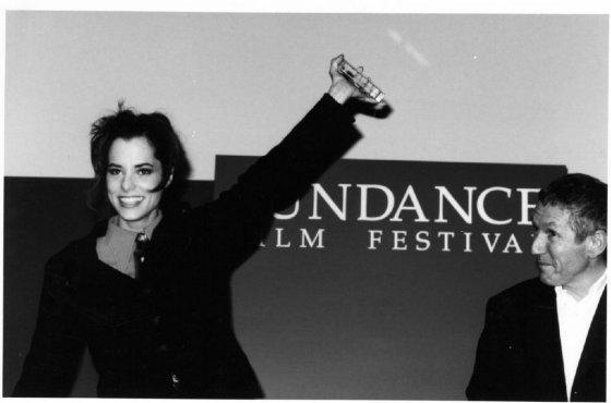 Parker Posey Sundance Fim Festival in 1997