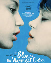 blue is the warmest color movie poster