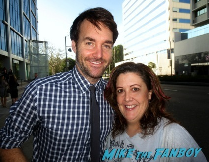 will forte signing autographs celebrity autograph signing7