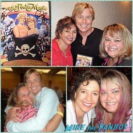 christopher atkins kristy mcnichol now 2014 the pirate movie stars reunion3