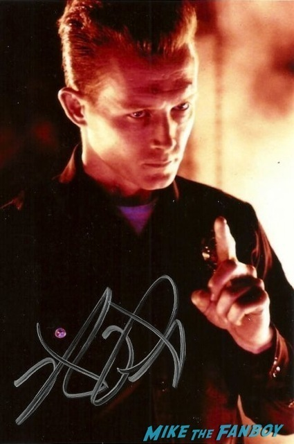 robert patrick signed autograph photo rare T2
