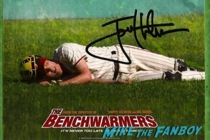 jon heder signed autograph poster rare hot
