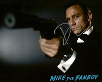 daniel craig signed autograph photo james bond 007