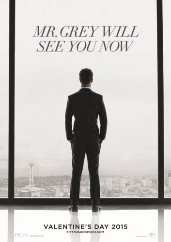 fifty shades of grey movie poster one sheet teaser poster rare