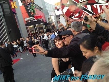 Danielle Bisutti  signing autographs insidious 2 movie premiere autograph signing 18