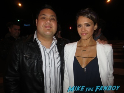 jessica Alba fan photo robin thicke rare signing autographs 2
