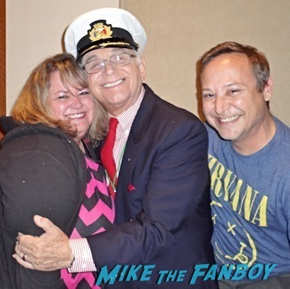 Gavin MacLeod fan photo signing autographs rare love boat cast now gavin mcleod jill whelan1