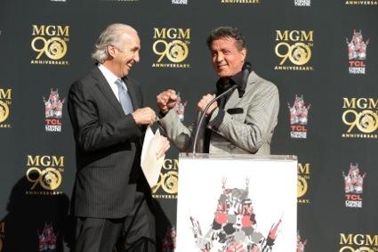 Gary Barber, Sylvester Stallone