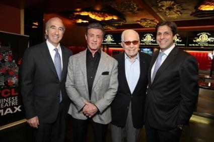 Gary Barber, Walter Mirisch, Jonathan Glickman, Sylvester Stallone
