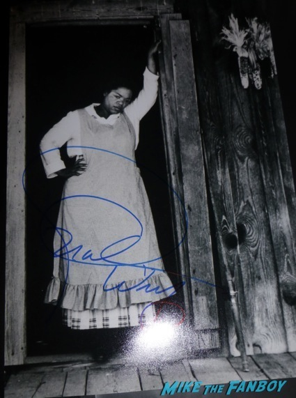 oprah winfrey signed autograph color purple photo rare signing autographs1oprah winfrey signed autograph color purple photo rare signing autographs1