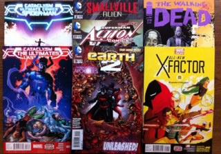 new comic books the walking dead x factor #1