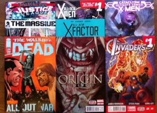 new comic books rare