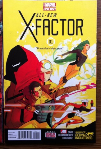 x-factor #1 new comic book rare marvel rare promo