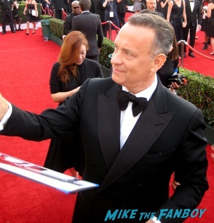 Tom Hanks sag awards 2014 bleacher fan photos oprah aaron paul 101