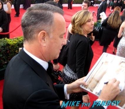 Tom Hanks sag awards 2014 bleacher fan photos oprah aaron paul 101
