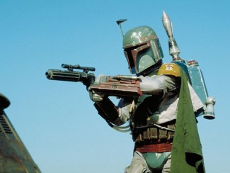 star-wars-boba-fett Star Wars is going to be making a grand splash at the multiplex with the new trilogy, stand alone films, etc...   Complex.com has the full scoop that one of the standalone films is going to focus on Boba Fett... I know shocking... But I think that's the most logical character to branch out from.  But the really cool news is that the film is going to be written by Lawrence Kasdan who wrote the best of the original trilogy.    Boba Fett is clearly a fan favorite character and deserves his own stand alone film.  Apparently, the new stand alone film will take place between A New Hope and Empire Strikes Back.  Since Boba Fett dies in Return of the Jedi that makes sense.  Or they could write in the fact that he's not really dead and continue from there, but my money is on the former.