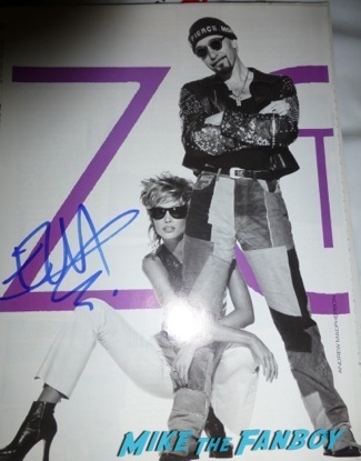 the edge  signed vogue magazine cover u2 autograph signing meeting fans bono the edge palm springs film festival 20142