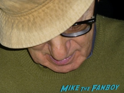 woody allen signing autographs for fans UCLA9